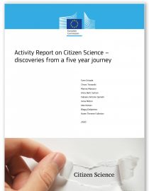 cover_activity report on citizen science